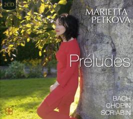 New CD release: Marietta Petkova 'PRÉLUDES'